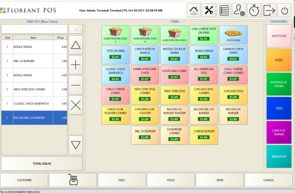Floreant POS:: Installation guide for pos backoffice